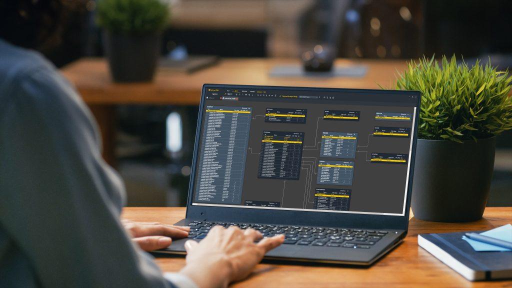 (주)비밥소프트웨어 – ERD 모델링 소프트웨어 Yellow ERD 개발